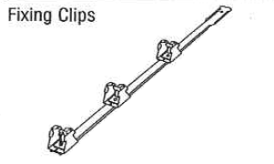 Fixing Clips No Fasteners (40 per box)