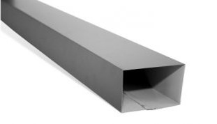 Rectangular Downpipe (100mm x 75mm)
