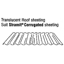 Translucent Roof Sheeting Suit Stramit Corrugated Sheeting