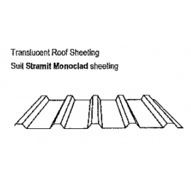 Translucent Roof Sheeting Suit Monoclad Sheeting